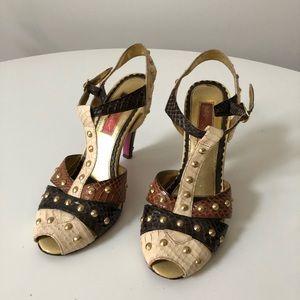 Betsey Johnson Studded Heels
